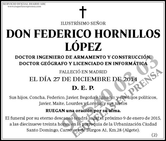 Federico Hornillos López